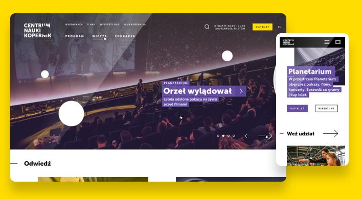 Fabrity's client - Centrum Nauki Kopernik