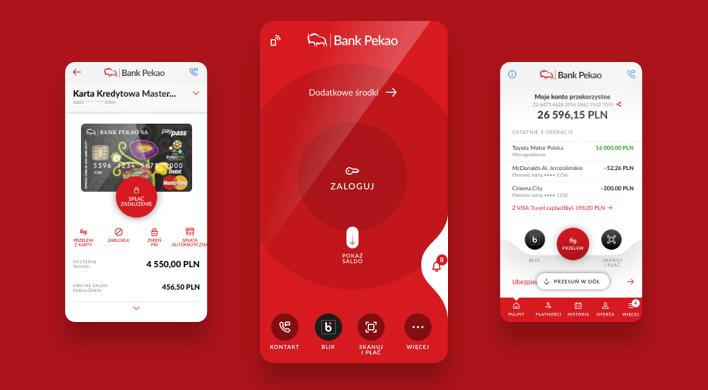 Fabrity's client - PEKAO App